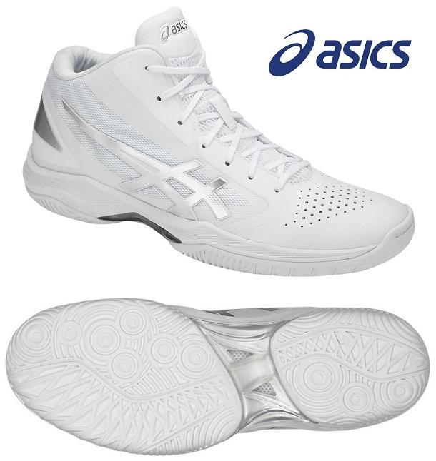 アシックス(asics) GELフープ V10-スリム バスケットボールシューズ ホワイト×シルバー TBF341-0193