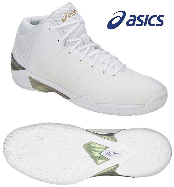 アシックス(asics) GELバースト 22 男女兼用 バスケットボールシューズ ホワイト×ホワイト TBF342-0101
