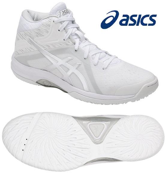 アシックス レディGELフェアリー 8 レディース用 バスケットボールシューズ ホワイト×シルバー TBF403-0193