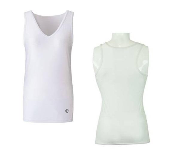 男女兼用 マーケット フィットインナーシャツ ユニフォームの下に着用できます コンバース バスケットボール ウィメンズ CB321705-1100 コンプレッション ホワイト インナーシャツ