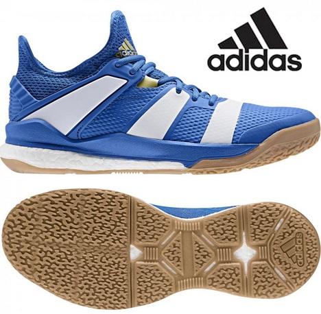 アディダス(adidas) STABIL X インドア用 ハンドボールシューズ ブルー×オフホワイト G26422