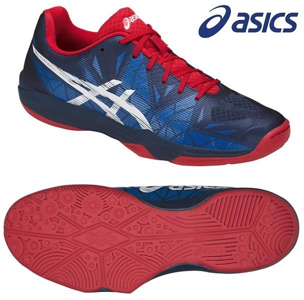 アシックス(asics) GEL-ファストボール 3 インドア用 ハンドボールシューズ インシグニアブルー×ホワイト THH546-5001
