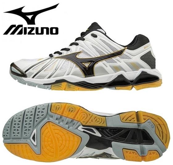 ミズノ ウエーブトルネード X2 バレーボールシューズ ホワイト×ブラック色 V1GA181209