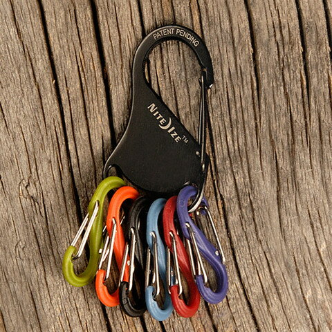 Key management NITEIZE / night is Kerak and colorful carabiners!