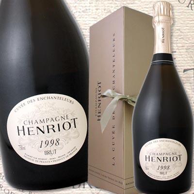 アンリオ・キュベ・アンシャンテルール 1998【シャンパン】【750ml】【正規】【Henriot】