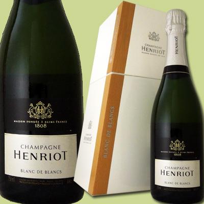 アンリオ・ブリュット・ブラン・ド・ブラン(クーラーボックスつき)【シャンパン】【750ml】【正規】【箱入り】【Henriot】