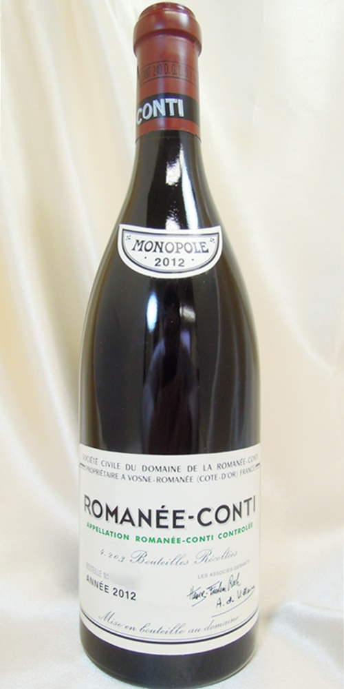 DRCロマネ・コンティ 2012 a2