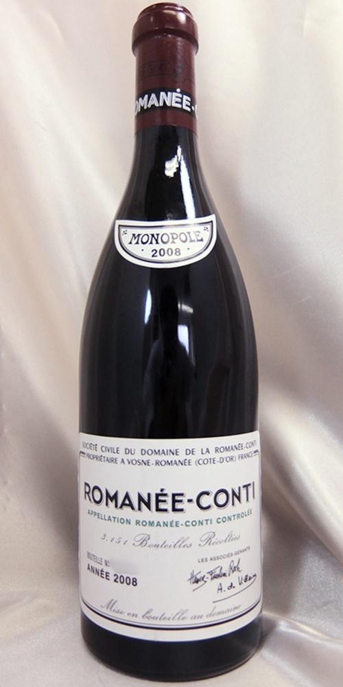 DRCロマネ・コンティ 2008