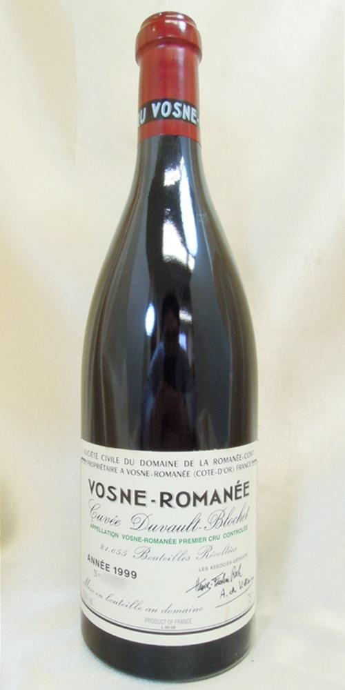 DRCヴォーヌ・ロマネ 1er cru 1999 a2