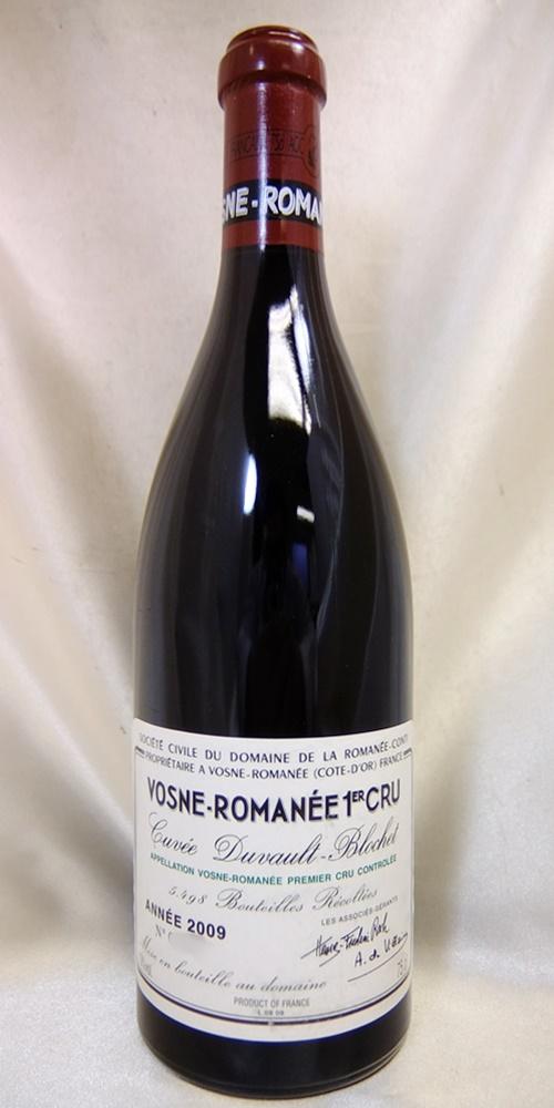 DRC Vosne-Romanee DRCヴォーヌ ロマネ cru ※ラッピング ※ 2009 数量は多 1er