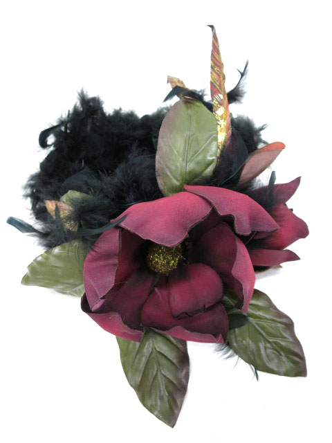 【中古】atelier Beatrice / magnolia feather ヘッドドレス アトリエ・ベアトリーチェ B09518_1908