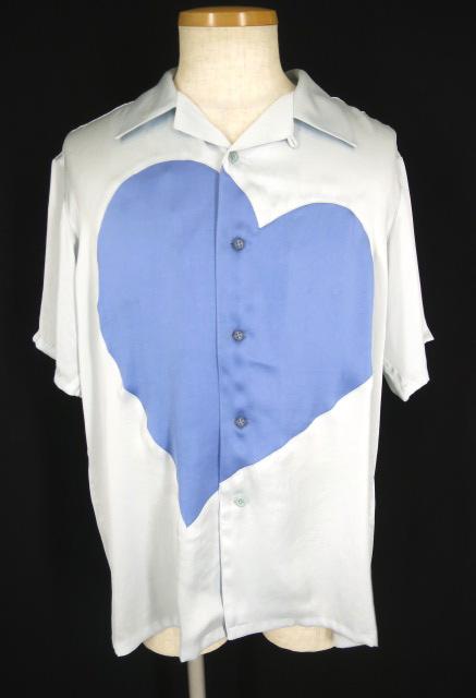 【中古】MILK BOY / SILKY HEART シャツ ミルクボーイ 半袖 シルキーハート B14081_1808