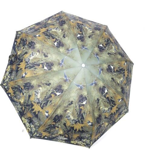 【中古】Jean Paul GAULTIER / 野鳥&森林柄折り畳み傘 ジャンポールゴルチエ B14813_1809