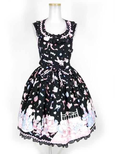 【中古】Angelic Pretty / ドリーミィドールハウスラウンドジャンパースカート アンジェリックプリティ B15223_1810