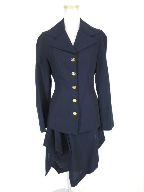 【中古】Vivienne Westwood RED LABEL / スカートスーツ セットアップ ヴィヴィアンウエストウッドレッドレーベル B15610_1810