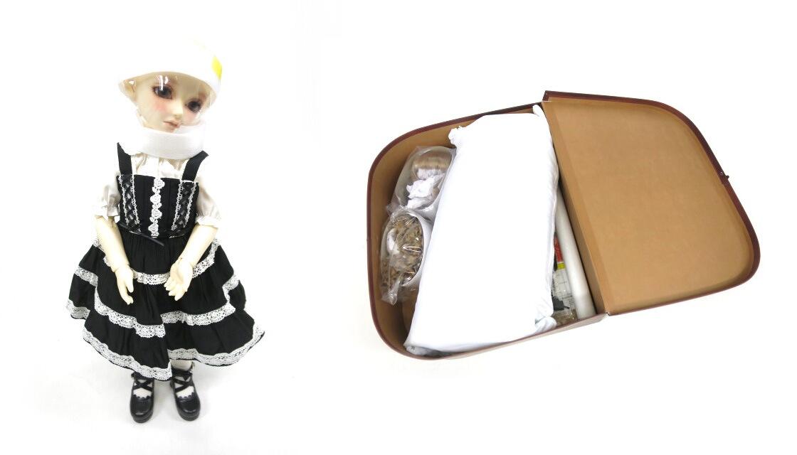 Super Dollfie×BABY, THE STARS SHINE BRIGHT / Dear SD くん ミルフィーユジャンパースカートコーデセット スーパードルフィー ベイビーザスターズシャインブライト コラボ B17225_1910