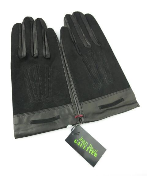 Jean Paul GAULTIER / レザー手袋(羊革) ジャンポールゴルチエ メンズ B21553_1905