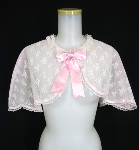 【中古】Angelic Pretty / Milky Featherケープ アンジェリックプリティ B23669_1907