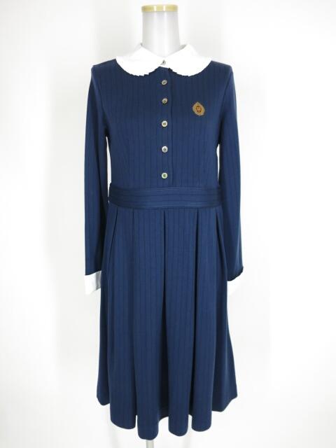 Marple ワンピース B24740_2102 ジェーンマープル ロゴとクラウンエンブレムのドミトリードレス / Jane