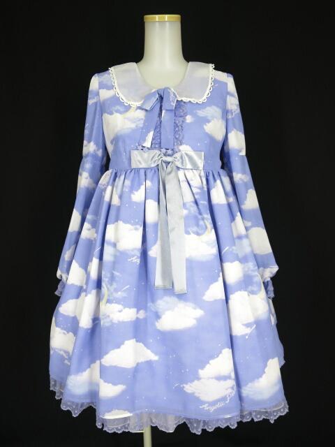 中古 プレゼント Angelic Pretty 期間限定送料無料 Misty Skyワンピース B24767_2012 アンジェリックプリティ