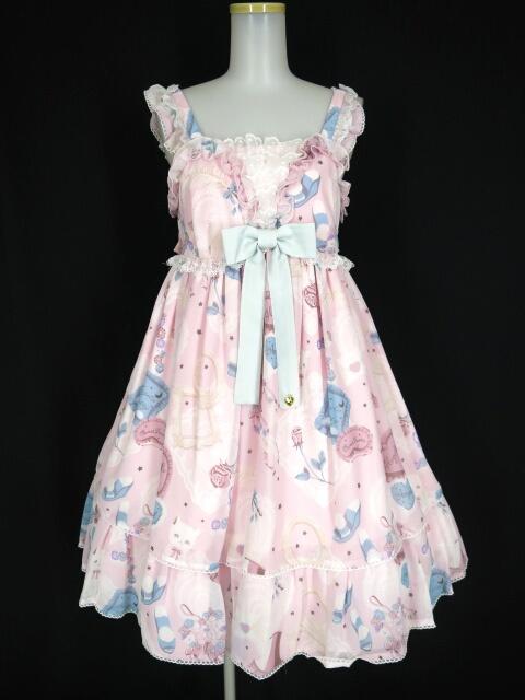 【中古】Angelic Pretty / My Favorite Roomジャンパースカート アンジェリックプリティ B25020_2005