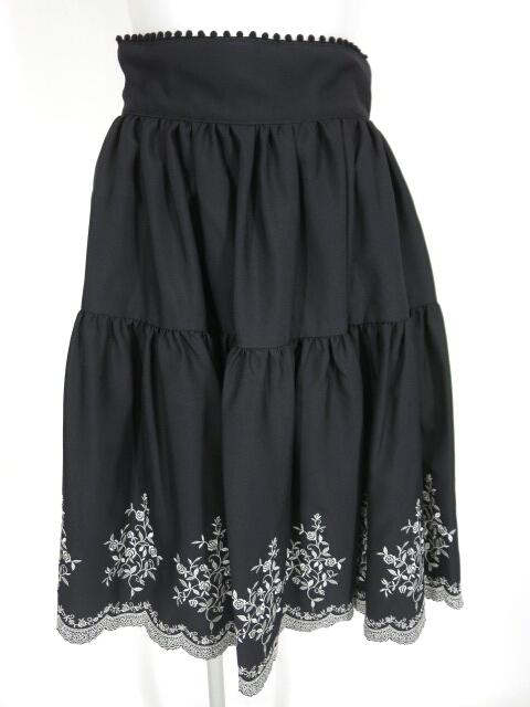 【中古】Fairy Wish / クラシカル刺繍スカート フェアリーウィッシュ B27355_2004