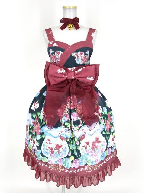 Royal Princess Alice / 絢爛金魚帯付きドレス+チョーカーセット ロイヤルプリンセスアリス ジャンパースカート B31786_2004