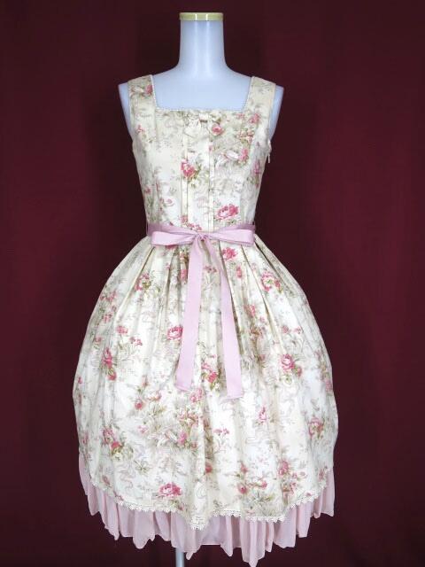 【中古】Victorian maiden / シフォンフリルジャンパースカート ヴィクトリアンメイデン B32031_2005