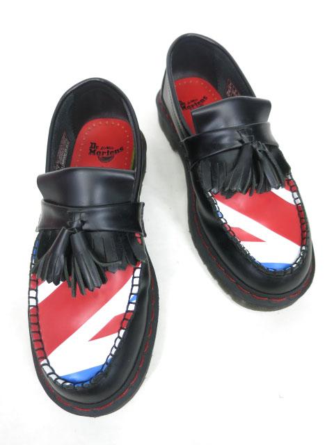 【中古】Dr.Martens×The Who / ADRIAN WHO ユニオンジャック柄ローファー ドクターマーチン ザ・フー コラボ UK5 靴 シューズ B32930_2006