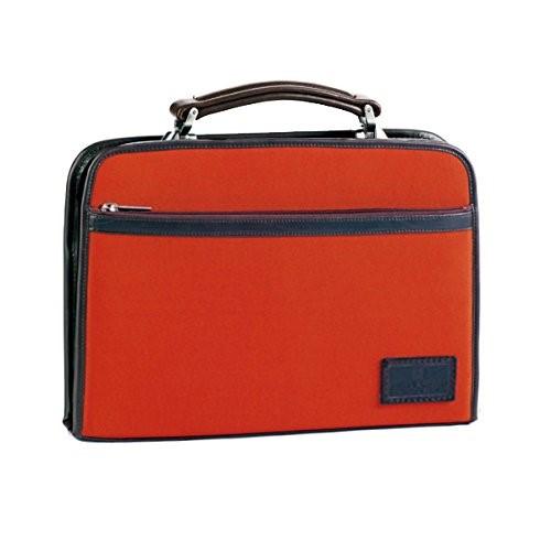 フィリップラングレー ダレスバッグ メンズ 22287 日本製 大開きダレス オレンジ ギフトメンズ ドクターバッグ ロイヤーズバッグ ビジネスバッグ 大容量 本革