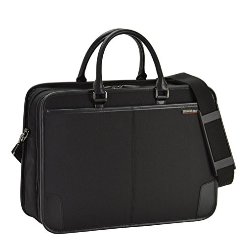 ビジネスバッグ 通勤用 B4対応 メンズ ジャーメインギア Y付兼用フチ巻ビジネス 黒 26573 ギフト
