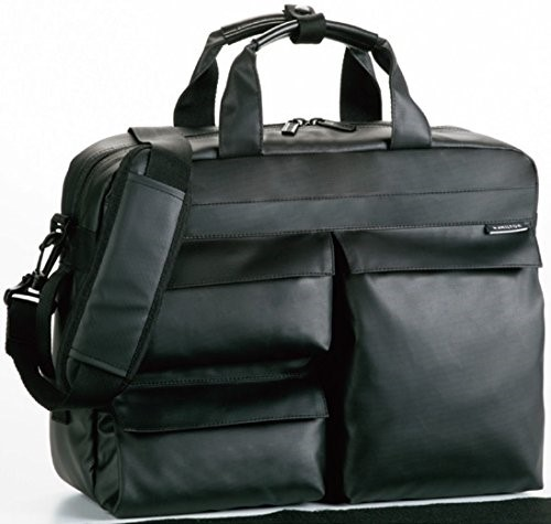 HAMILTON ハミルトン ダブルPUビジネスバッグ 3WAY 26609-01 黒 ギフトブリーフケース ビジネスバッグ メンズ