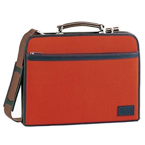 フィリップラングレー ダレスバッビジネスバッグ メンズ 22286 オレンジ ギフトメンズ ドクターバッグ ロイヤーズバッグ ビジネスバッグ 大容量 本革