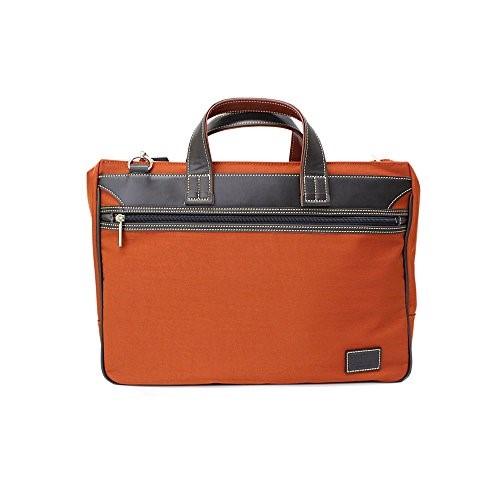 PHILIPE LANGLET ビジネスバッグ B4対応 NYビジネスシリーズ 26595 (オレンジ(17))ブリーフケース ビジネスバッグ メンズ プレゼント ギフト