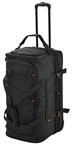 GERMANEGEAR トロリーボストン 2室式 15177 黒 ギフトキャリーバッグ キャリーケース キャリーカート