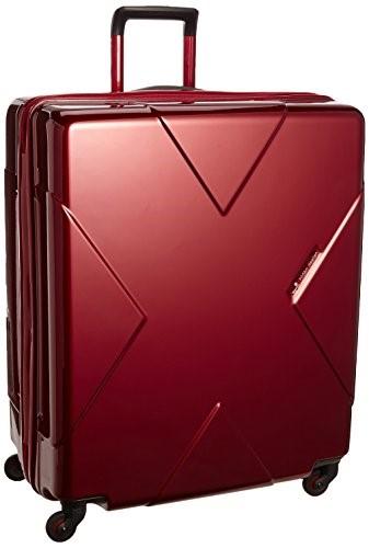 [ヒデオワカマツ] スーツケース メガマックス 預け入れ最大級容量 容量105L 縦サイズ70cm 重量5kg 85-75953 3 ワイン ギフトハードケース ハードスーツケース