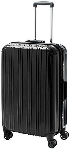 [アクタスツートンハード] ACTUS フレームタイプ スーツケース 74-20261  約73L (ブラック) ギフト
