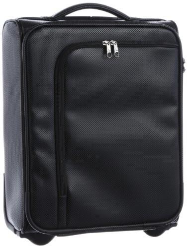 [ヒデオワカマツ] スーツケース アイラ 容量18L 縦サイズ43cm 重量2.7kg 85-75500 1 ブラック ギフト