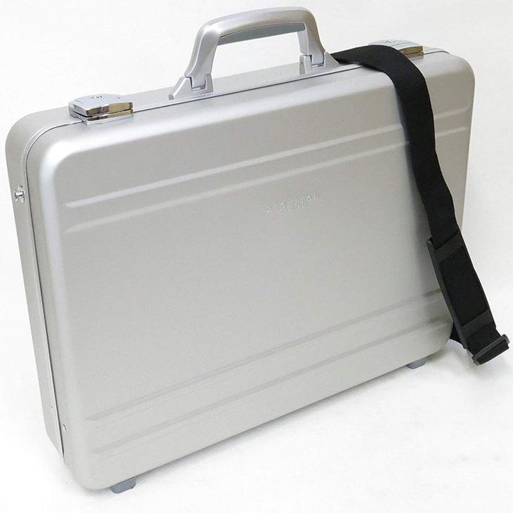 BROMPTON ブロンプトン 平野鞄 豊岡鞄 ZERO HALLIBURTON(ゼロハリバートン)にも劣らない...アルミ アタッシュケース A3F 48cm #21198軽量 ビジネス おしゃれ 豊岡 かばん 豊岡製鞄 ブランド 日本製 プレゼント ギフト