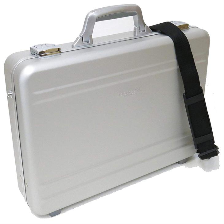 BROMPTON ブロンプトン 平野鞄 豊岡鞄 ZERO HALLIBURTON(ゼロハリバートン)にも劣らない...アルミ アタッシュケース A4F 45cm #21199軽量 ビジネス おしゃれ 豊岡 かばん 豊岡製鞄 ブランド 日本製 プレゼント ギフト
