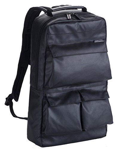 HAMILTON ビジネスリュック Dパック 42548 黒 ギフトデイパック デイバッグ バックパック メンズ
