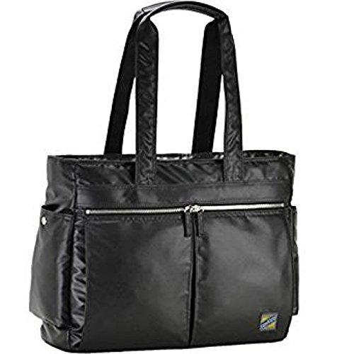 平野鞄 モビーズ シリコンコーティング トートバッグ 黒 53403-01 ギフト