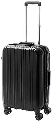 [アクタスツートンハード] ACTUS スーツケース 74-20251 約52L (ブラック) ギフトハードケース ハードスーツケース