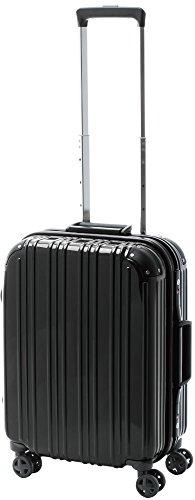 [アクタスツートンハード] ACTUS フレームタイプ スーツケース 74-20241 約33L (ブラック) ギフトハードケース ハードスーツケース