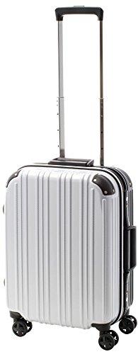 [アクタスツートンハード] ACTUS フレームタイプ スーツケース 74-20249 約33L (カーボンホワイト) ギフトハードケース ハードスーツケース