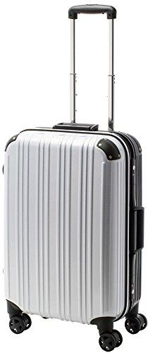 [アクタスツートンハード] ACTUS フレームタイプ スーツケース 74-20269 約73L (カーボンホワイト) ギフト
