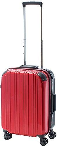 [アクタスツートンハード] ACTUS フレームタイプ スーツケース 74-20243 約33L (レッド) ギフトハードケース ハードスーツケース