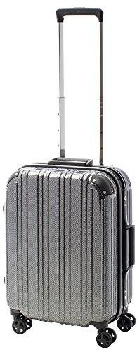 [アクタスツートンハード] ACTUS フレームタイプ スーツケース 74-20248 約33L (カーボンブラック) ギフトハードケース ハードスーツケース