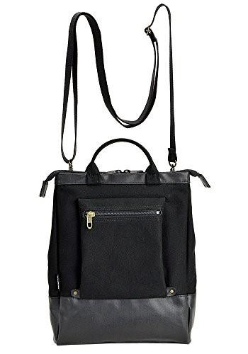 BROMPTON ブロンプトン 平野鞄 豊岡鞄 ラバーキャンバス ショルダーバッグ 3way A4 26599 -01 黒 ギフト斜めがけ ブランド メンズ レディス 豊岡 かばん 豊岡製鞄 ブランド 日本製
