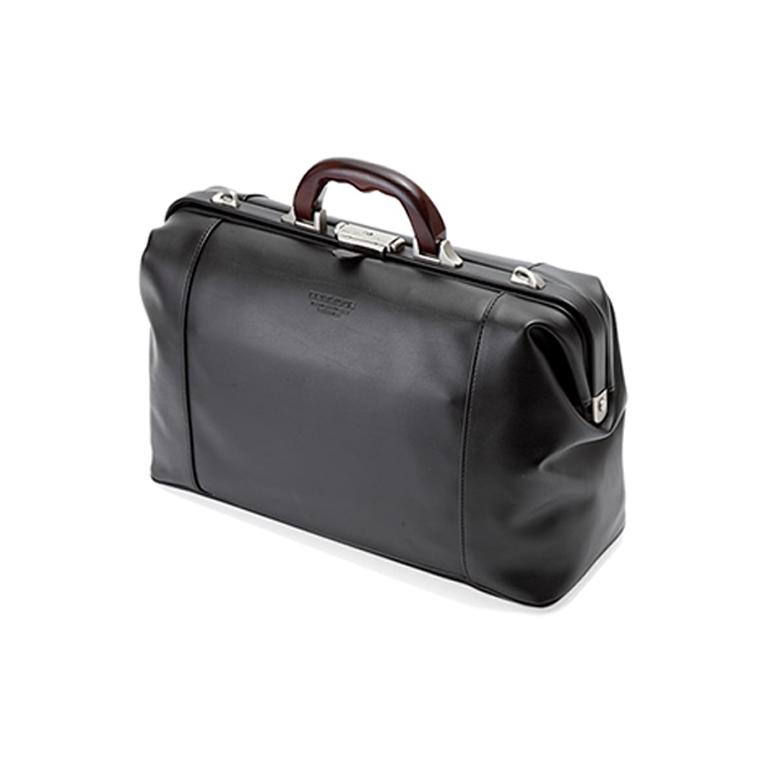 平野 ブレリアス 日本製 豊岡製鞄 軽量合皮木手ダレスボストンビジネスバッグ トラベルバッグ A4ファイル 41cm #10428 黒